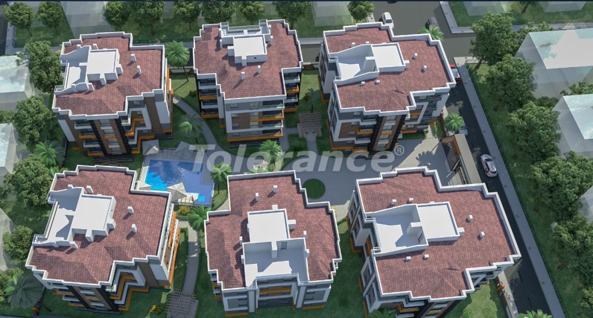 Недорогие квартиры в центре Анталии в комплексе с бассейном от застройщика - 16900 | Tolerance Homes
