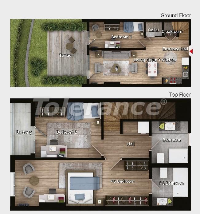 Новые готовые квартиры в Авджыларе, Стамбул в современном комплексе с рассрочкой до 6 месяцев - 17193 | Tolerance Homes