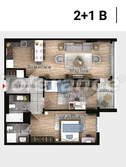 Новые готовые квартиры в Авджыларе, Стамбул в современном комплексе с рассрочкой до 6 месяцев - 17181 | Tolerance Homes