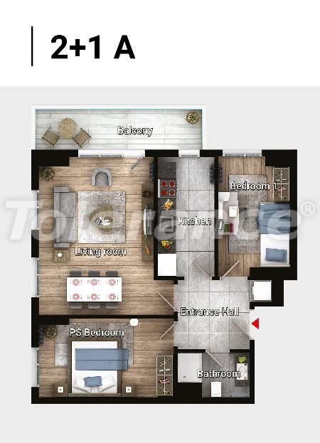 Новые готовые квартиры в Авджыларе, Стамбул в современном комплексе с рассрочкой до 6 месяцев - 17180 | Tolerance Homes