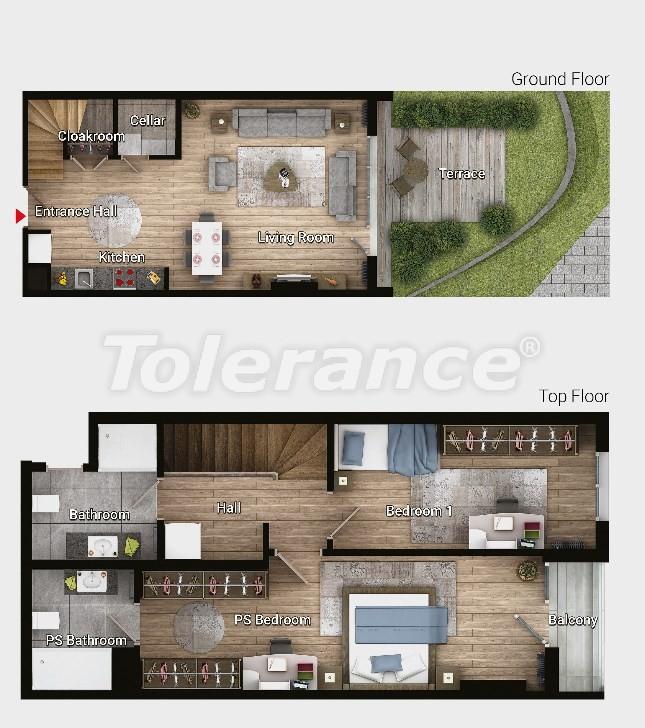 Новые готовые квартиры в Авджыларе, Стамбул в современном комплексе с рассрочкой до 6 месяцев - 17185 | Tolerance Homes