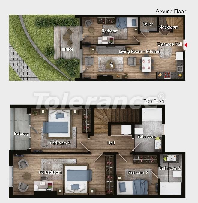 Новые готовые квартиры в Авджыларе, Стамбул в современном комплексе с рассрочкой до 6 месяцев - 17186 | Tolerance Homes