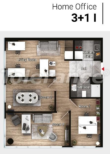Новые готовые квартиры в Авджыларе, Стамбул в современном комплексе с рассрочкой до 6 месяцев - 17195 | Tolerance Homes