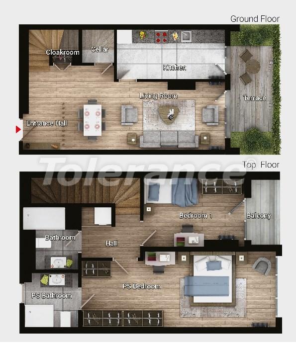 Новые готовые квартиры в Авджыларе, Стамбул в современном комплексе с рассрочкой до 6 месяцев - 17184 | Tolerance Homes