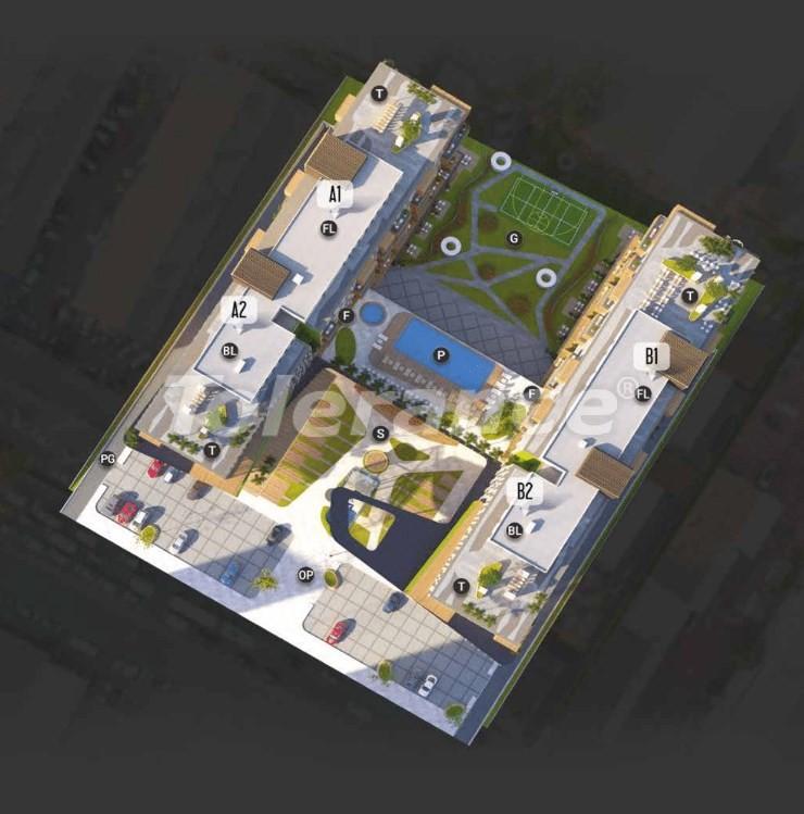 Новые готовые квартиры в Авджыларе, Стамбул в современном комплексе с рассрочкой до 6 месяцев - 17209 | Tolerance Homes