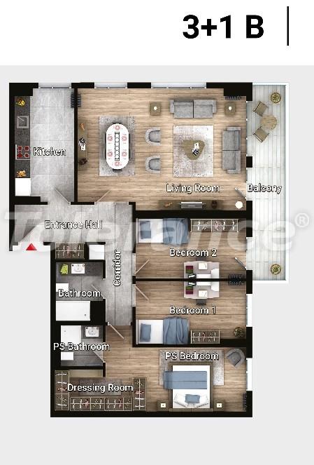Новые готовые квартиры в Авджыларе, Стамбул в современном комплексе с рассрочкой до 6 месяцев - 17188 | Tolerance Homes