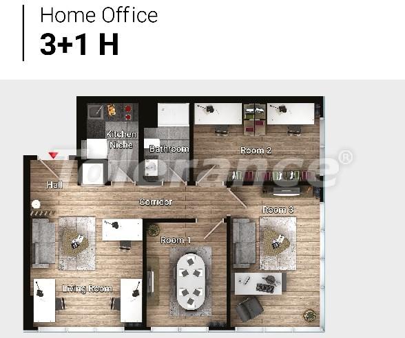 Новые готовые квартиры в Авджыларе, Стамбул в современном комплексе с рассрочкой до 6 месяцев - 17194 | Tolerance Homes
