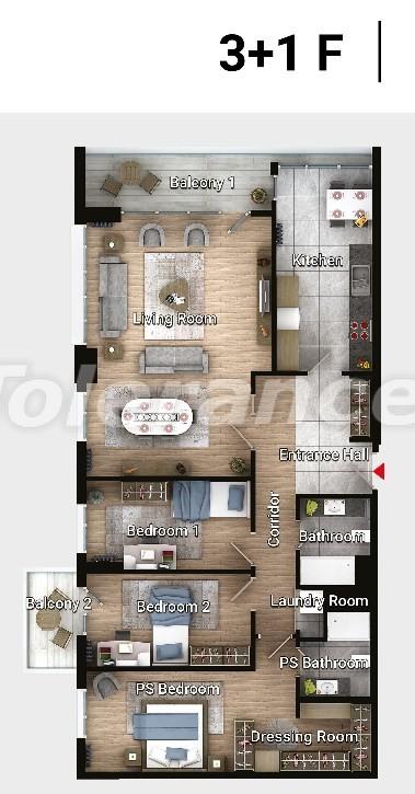 Новые готовые квартиры в Авджыларе, Стамбул в современном комплексе с рассрочкой до 6 месяцев - 17192 | Tolerance Homes