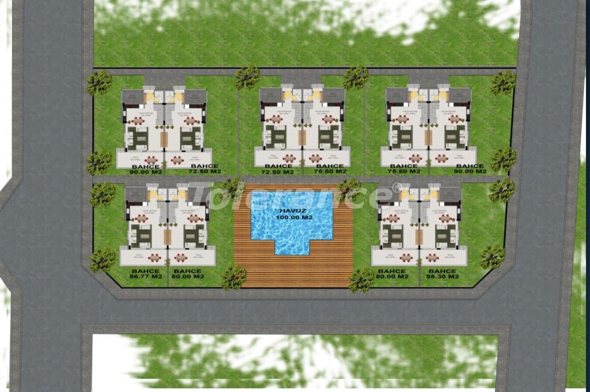 Современные виллы в Куздере, Кемер в комплексе с бассейном - 17377 | Tolerance Homes