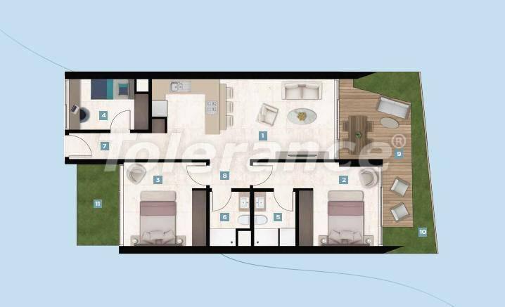 Шикарные квартиры в Чешме, Измир у моря с рассрочкой до 12 месяцев - 17425 | Tolerance Homes