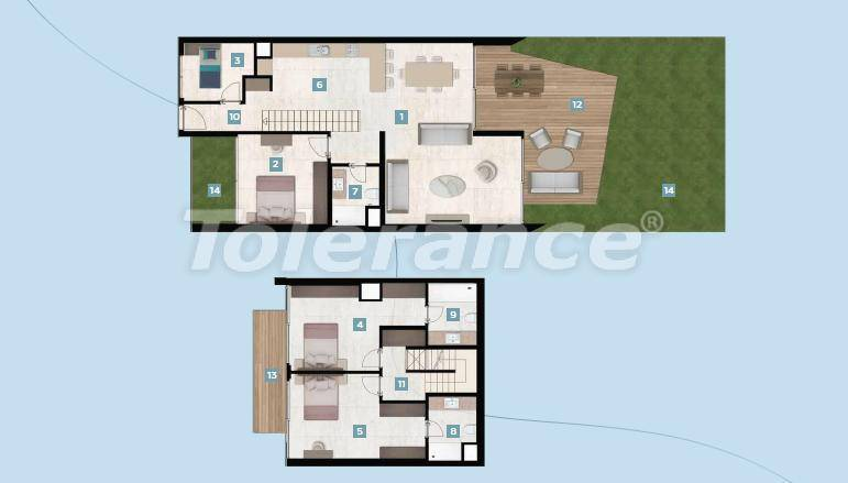 Шикарные квартиры в Чешме, Измир у моря с рассрочкой до 12 месяцев - 17426 | Tolerance Homes