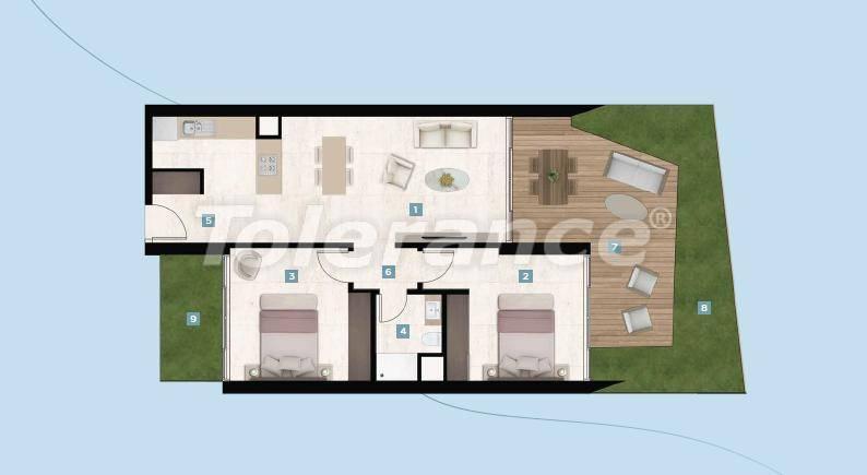 Шикарные квартиры в Чешме, Измир у моря с рассрочкой до 12 месяцев - 17424 | Tolerance Homes