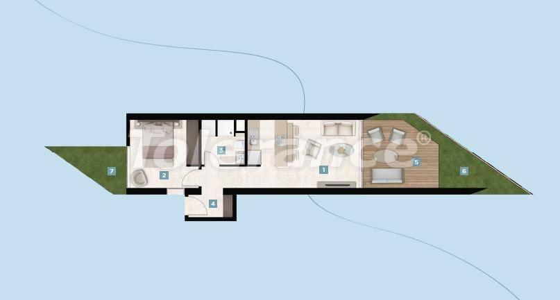 Шикарные квартиры в Чешме, Измир у моря с рассрочкой до 12 месяцев - 17423 | Tolerance Homes