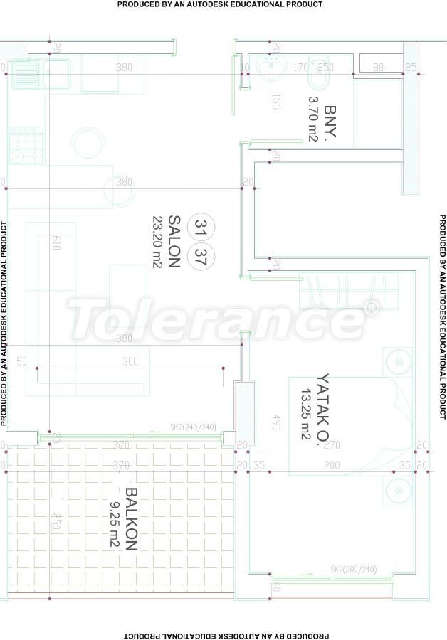 Новый современный комплекс в центре Аланьи от надежного застройщика - 17535 | Tolerance Homes