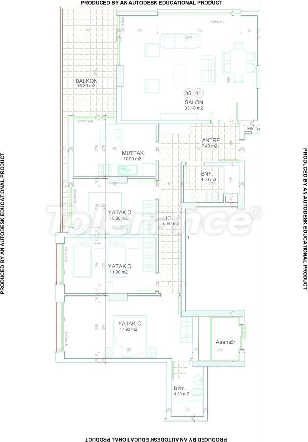 Новый современный комплекс в центре Аланьи от надежного застройщика - 17540 | Tolerance Homes