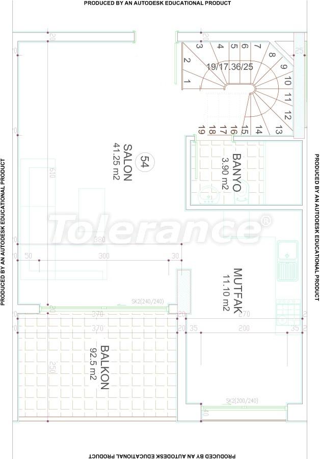 Новый современный комплекс в центре Аланьи от надежного застройщика - 17541 | Tolerance Homes