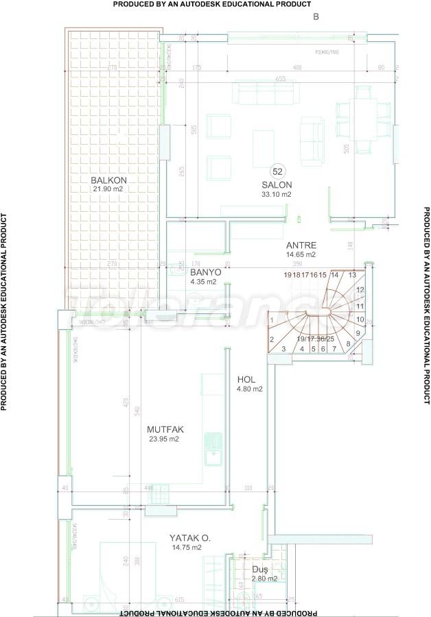Новый современный комплекс в центре Аланьи от надежного застройщика - 17544 | Tolerance Homes
