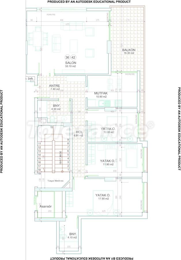 Новый современный комплекс в центре Аланьи от надежного застройщика - 17538 | Tolerance Homes