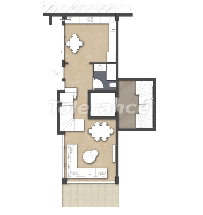 Просторные квартире в Ларе, Анталия рядом с морем - 17681 | Tolerance Homes