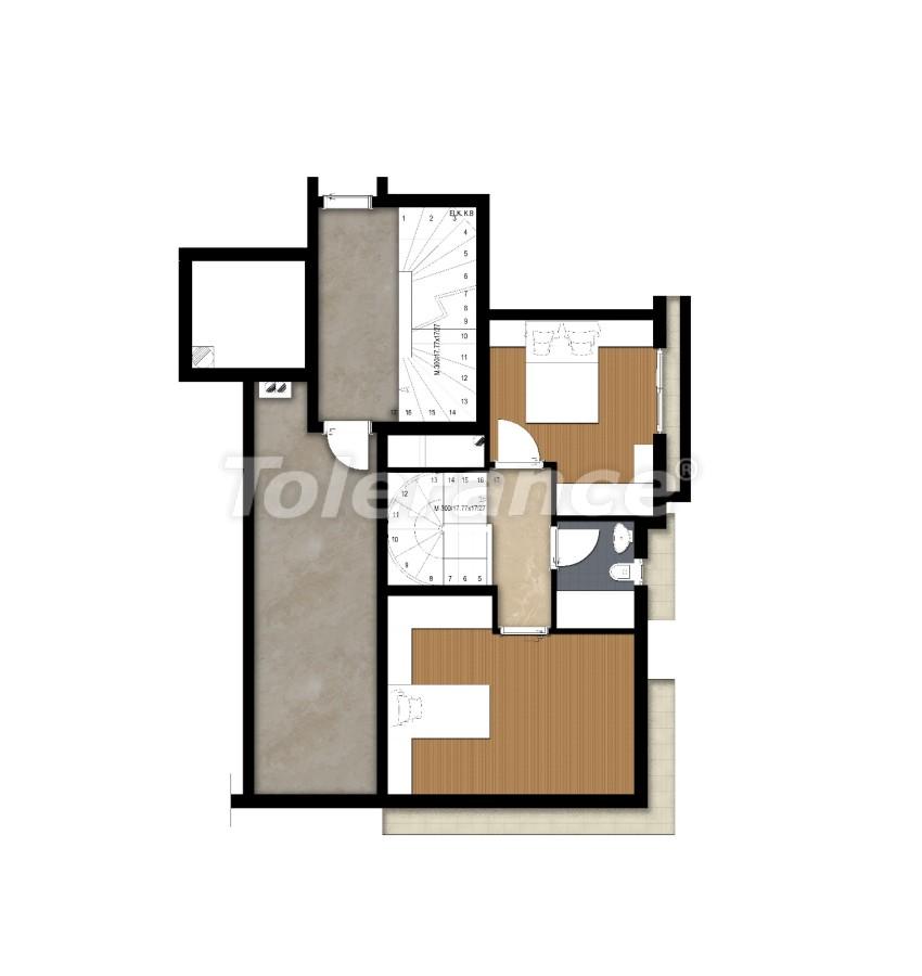 Просторные квартире в Ларе, Анталия рядом с морем - 17684 | Tolerance Homes