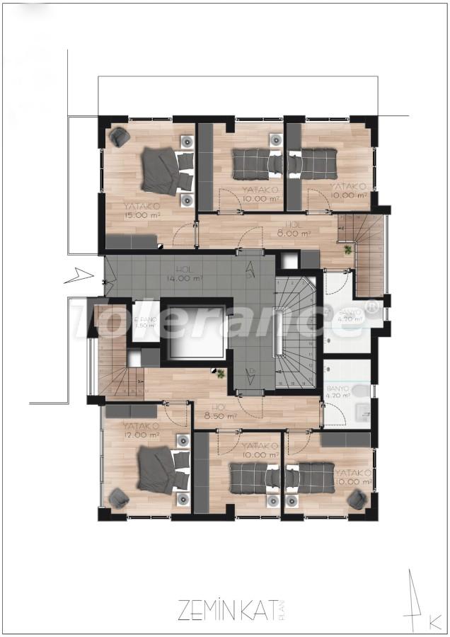 Просторные квартире в Ларе, Анталия рядом с морем - 17685 | Tolerance Homes