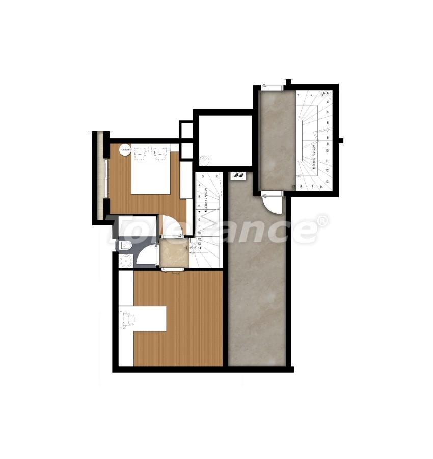 Просторные квартире в Ларе, Анталия рядом с морем - 17679 | Tolerance Homes