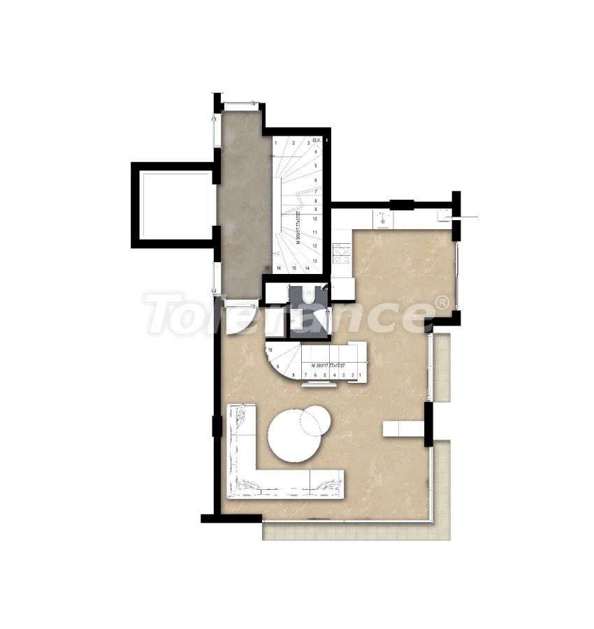 Просторные квартире в Ларе, Анталия рядом с морем - 17682 | Tolerance Homes