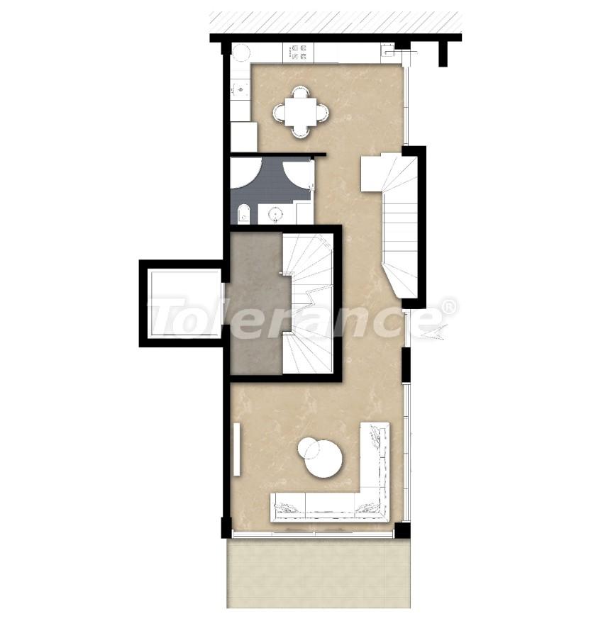 Просторные квартире в Ларе, Анталия рядом с морем - 17683 | Tolerance Homes