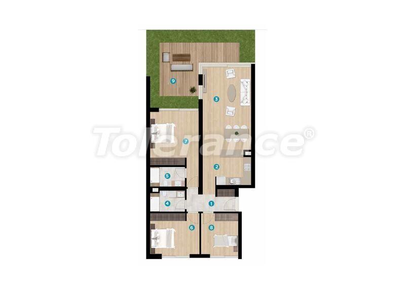 Эксклюзивные апартаменты в Чешме, Измир от лучшего застройщика с рассрочкой до 1 года рядом с морем - 17932 | Tolerance Homes