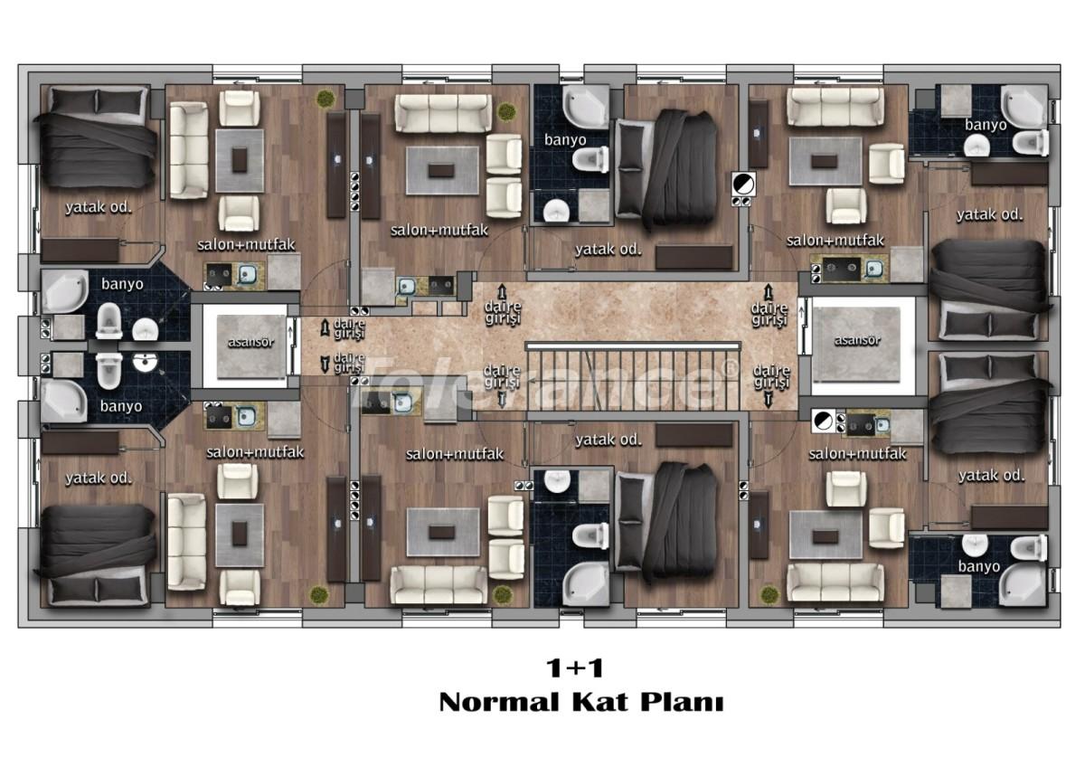 Двухкомнатные квартиры в центре города с рассрочкой от застройщика - 17994 | Tolerance Homes