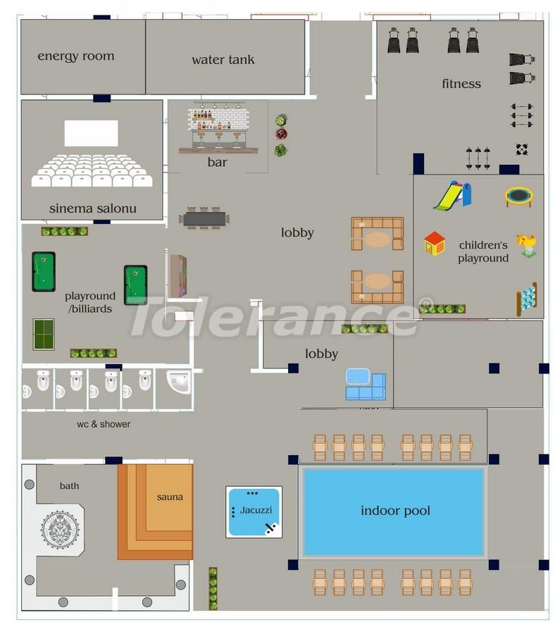 Апартаменты от застройщика в Алании класса люкс, 50м до моря - 18049 | Tolerance Homes
