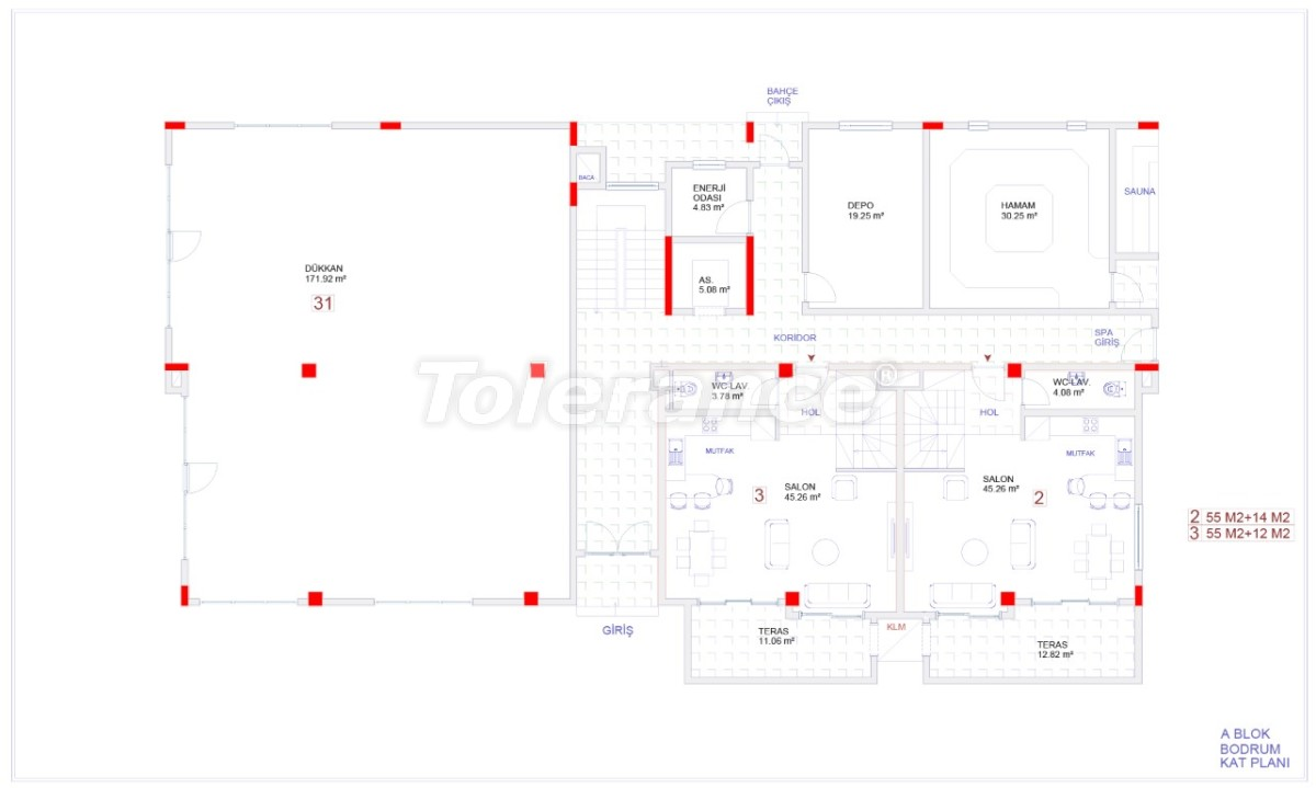 Современные апартаменты в Каргыджаке с бассейном от надежного застройщика с рассрочкой - 18113 | Tolerance Homes
