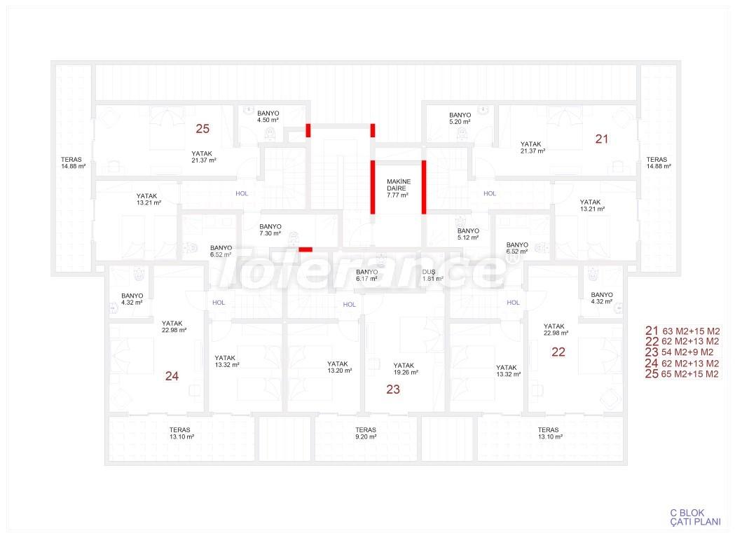 Современные апартаменты в Каргыджаке с бассейном от надежного застройщика с рассрочкой - 18119 | Tolerance Homes