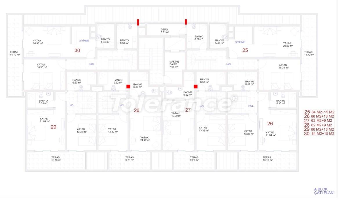 Современные апартаменты в Каргыджаке с бассейном от надежного застройщика с рассрочкой - 18114 | Tolerance Homes