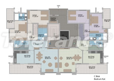 Квартиры в Оба в современном комплексе от застройщика с рассрочкой до 1 года - 18179 | Tolerance Homes