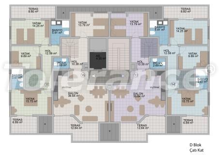 Квартиры в Оба в современном комплексе от застройщика с рассрочкой до 1 года - 18185 | Tolerance Homes