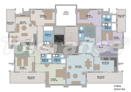 Квартиры в Оба в современном комплексе от застройщика с рассрочкой до 1 года - 18186 | Tolerance Homes
