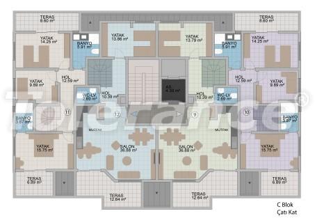 Квартиры в Оба в современном комплексе от застройщика с рассрочкой до 1 года - 18180 | Tolerance Homes