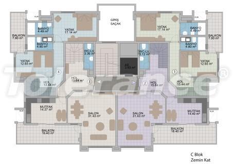 Квартиры в Оба в современном комплексе от застройщика с рассрочкой до 1 года - 18181 | Tolerance Homes