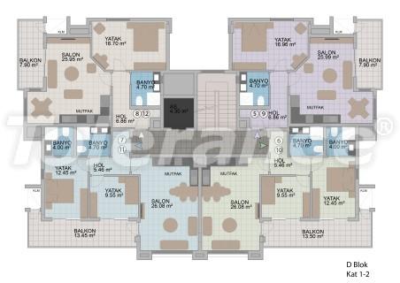 Квартиры в Оба в современном комплексе от застройщика с рассрочкой до 1 года - 18182 | Tolerance Homes