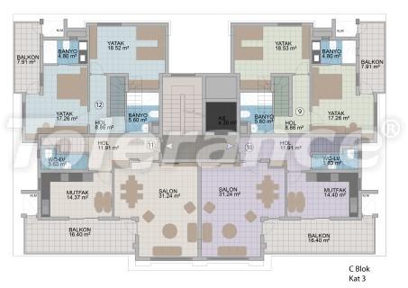 Квартиры в Оба в современном комплексе от застройщика с рассрочкой до 1 года - 18178 | Tolerance Homes