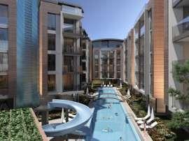 Квартиры в Хурме, Коньяалты в комплексе с открытым и закрытым бассейнами от застройщика - 18665 | Tolerance Homes