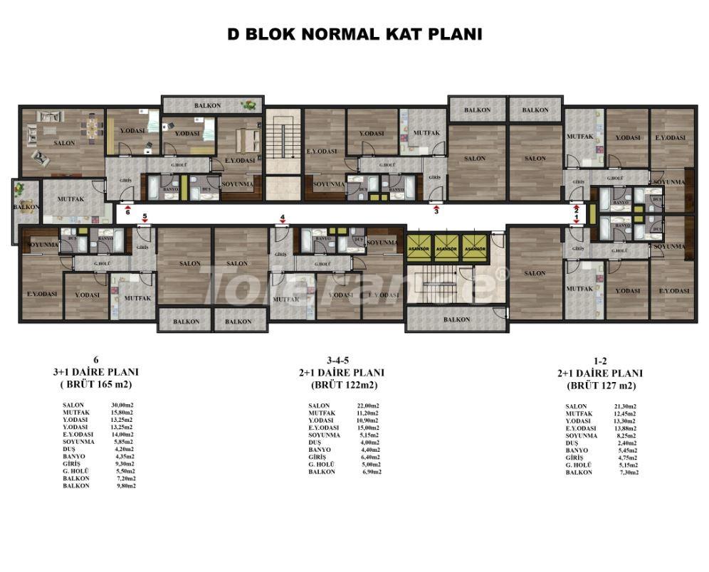 Просторные квартиры в Трабзоне на берегу моря от надежного застройщика с возможностью рассрочки - 18748 | Tolerance Homes