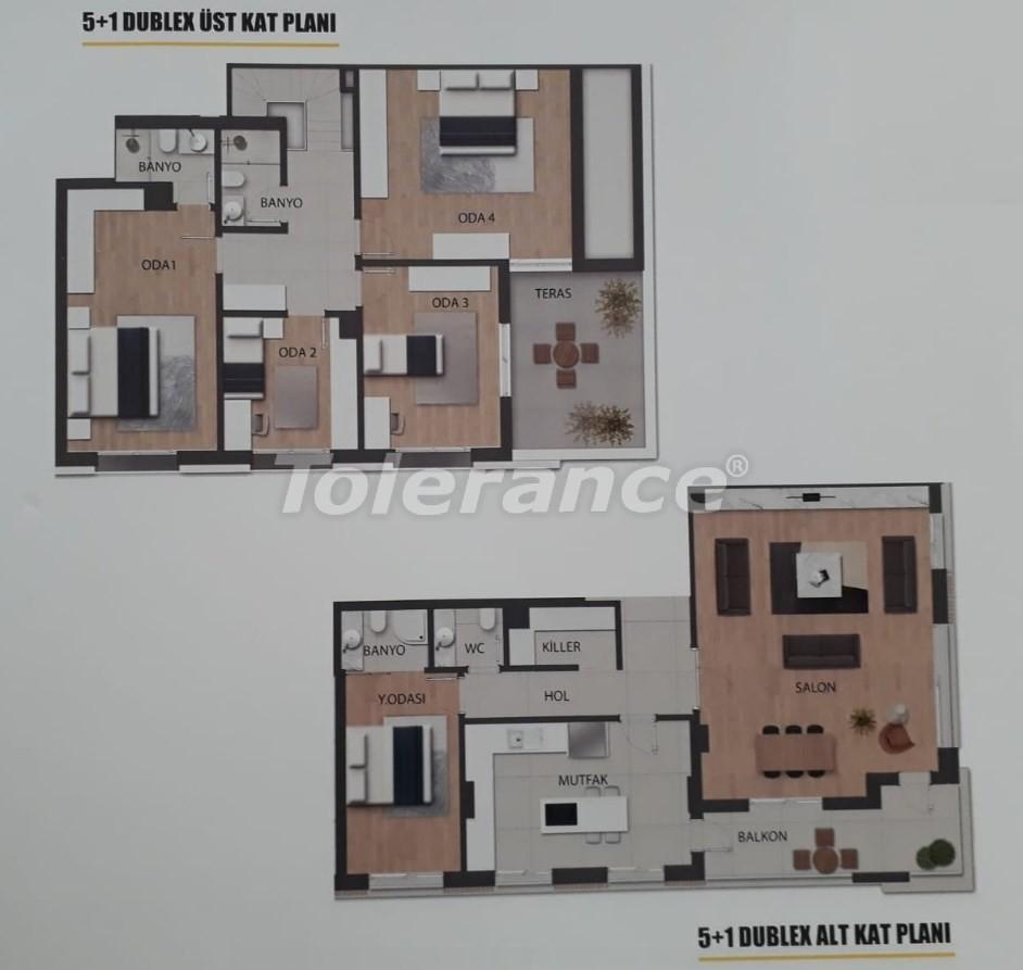 Современные квартиры в Унджалы, Коньяалты в комплексе с бассейном - 18888 | Tolerance Homes