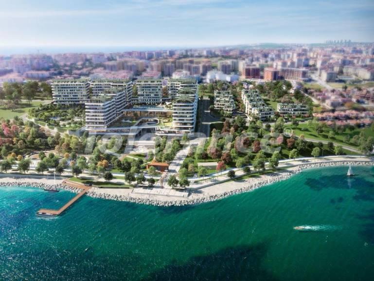 Элитные квартиры в Бююкчекмедже, Стамбул в комплексе с развитой инфраструктурой и видом на Мраморное море - 19102 | Tolerance Homes