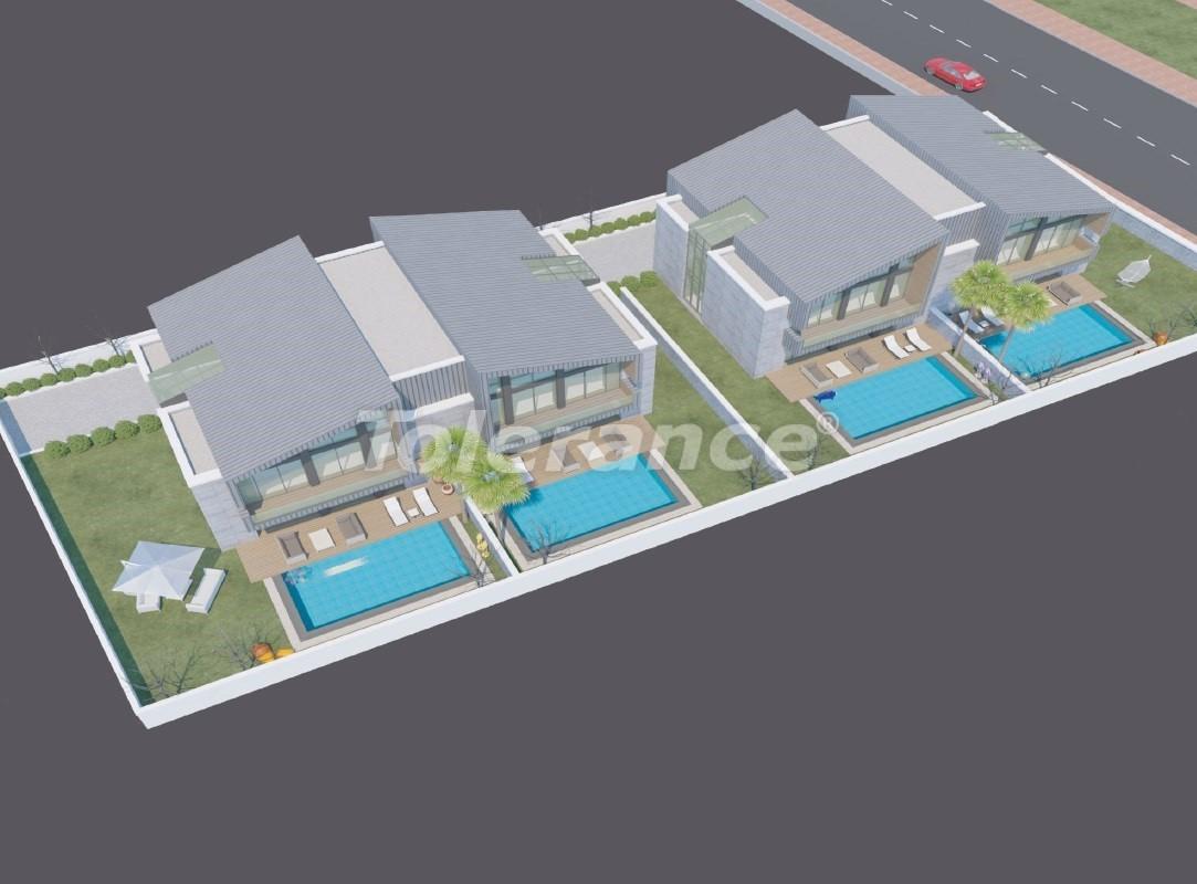 Современные виллы в Коньяалты с частным бассейном - 19011   Tolerance Homes