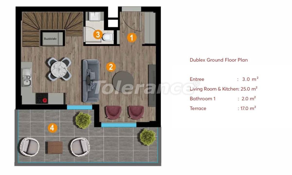 Современные апартаменты в Измире с роскошным видом на море и лес - 19216   Tolerance Homes