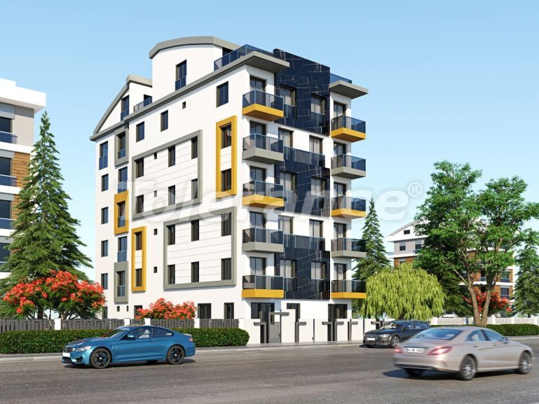 Современные квартиры в центре Анталии с газовым отоплением - 19437 | Tolerance Homes