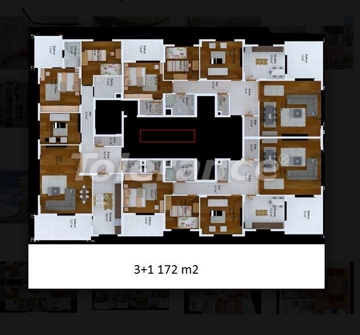 Недорогие квартиры в Трабзоне от застройщика в комплексе с развитой инфраструктурой - 20034 | Tolerance Homes