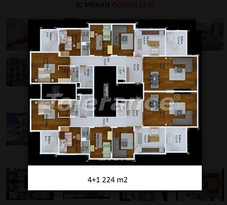 Недорогие квартиры в Трабзоне от застройщика в комплексе с развитой инфраструктурой - 20033 | Tolerance Homes